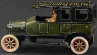 Bing Tin-Oldtimer Advertising auto with wind-up, made of...