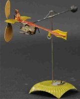 Unknown Tin-Carousels Go around, carousel with Bleriot...