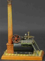 Bing Steam Toys-Horizontal Steam Engines Stationary live...