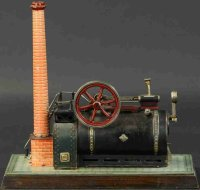 Bing Steam Toys-Horizontal Steam Engines Stationary steam...
