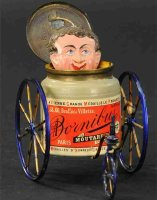 Unknown Tin-Figures French satirical tricycle - Paris...