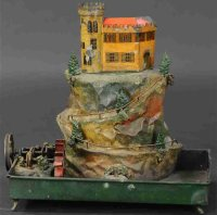 Rock & Graner Steam Toys-Drive Models Castel with moat...