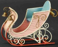 Maerklin Tin-Toys Ornate winter sleigh with fully...