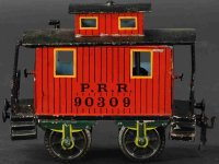 Maerklin Railway-Freight Wagons Caboose #2955/II with...