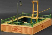 Maerklin Tin-Toys Swimming pool #8583/2 made of hand...