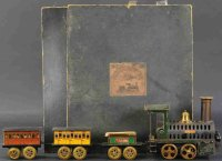 Plank Ernst Railway-Trains Hot air passenger set, Gauge 8...