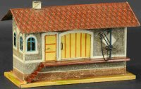 Maerklin Railway-Freight Station/Accessories Goods shed...