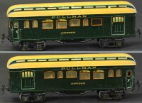 Maerklin Railway-Passenger Cars Baggage and smoker car...