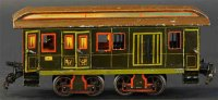 Maerklin Railway-Passenger Cars Baggage car #1844/1 with...