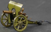 Maerklin Military Toys-Arms Shielded field gun #8040 S/2...