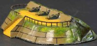 Maerklin Military Toys-Arms Cannon battery mound
