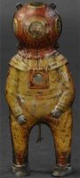 Unknown Tin-Figures Deep sea diver made of lithographed...