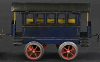 Schoenner Railway-Passenger Cars Passenger car with four...