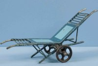 Maerklin Railway-Platform Accessories Luggage cart...