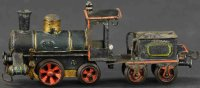 Maerklin Railway-Locomotives Clowkcowrk steam locomotive...