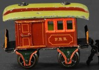 Maerklin Railway-Passenger Cars American baggage car...