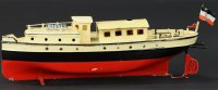 Maerklin Tin-Ships Launch #5061/33 hand painted overall,...