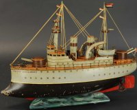 Maerklin Tin-Ships Tank cruiser #5104AS PRINZ ADALBERT...