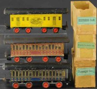Beggs Eugene Railway-Passenger Cars Three passenger cars...