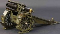 Maerklin Military Toys-Arms Large howitzer cannon...