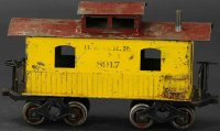 Howard Electric Novelty Company Güterwagen Caboose mit...