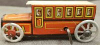 Fischer Georg Tin-Penny Toy Omnibus made of lithograhed...