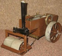 DM Butchers Steam Toys-Steamroller Steam roller with...