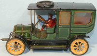 Hess Tin-Oldtimer Touring sedan #1060 with crank flywheel...