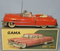 GAMA Tin-Cars Cadillac cabriolet #300 with flywheel...