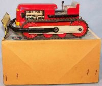 Arnold Tin-Tugs/Rollers Caterpillar with shovel #7061...