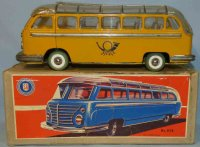 Guenthermann Tin-Buses Mail bus #858 with wheel drive in...