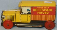 Rossignol Tin-Trucks Advertising car for a chocolate...
