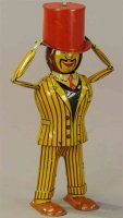 Distler Tin-Figures Figure with changing facec and...