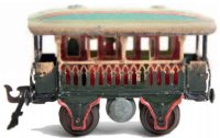 Maerklin Railway-Passenger Cars Observation car #1824/0...