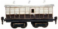 Maerklin Railway-Passenger Cars English baggage car...