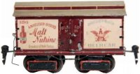 Maerklin Railway-Freight Wagons Beer car #2959/0 M with...