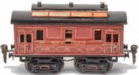 Maerklin Railway-Passenger Cars French mail car #2992/0...