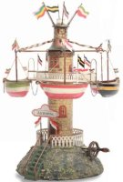 Maerklin Steam Toys-Drive Models Air carousel Aeropal...