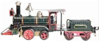 Maerklin Railway-Locomotives American clockwork...