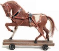 Maerklin Tin-Animals Medium sized coat horse #1491 for...