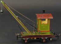 Maerklin Railway-Locomotives Crane car #1110 (3858) with...