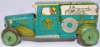 Technofix bros. Einfalt Tin-Penny Toy Army minivan #171,...