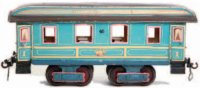 Maerklin Railway-Passenger Cars Dining Car #1841K with...