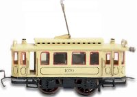 Maerklin Tin-Trams Streetcar motor car #1070 with...