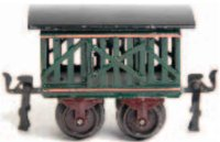 Maerklin Railway-Freight Wagons Cattle car #1809/0 with...