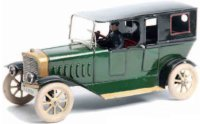Maerklin Tin-Oldtimer Automobile, closed body in dark...