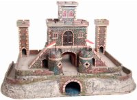 Maerklin Tin-Toys Castle complex of tinplate, wood and...