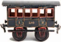 Maerklin Railway-Passenger Cars Passenger car # 1805.2,...