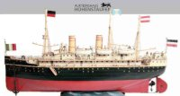 Maerklin Tin-Ships Ocean liner #5050/7D DEUTSCHLAND with...