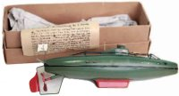 Maerklin Tin-Ships Submarine #5108/29, hand painted in...